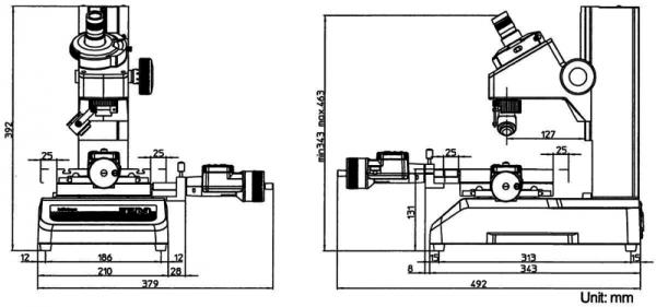 Kính hiển vi đo lường Microscope MF-A3017D, 176-864-10