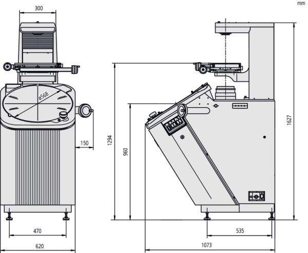 Máy chiếu phóng đại Measuring Projector PV-5110, XY=200 x 100 mm, 304-919E