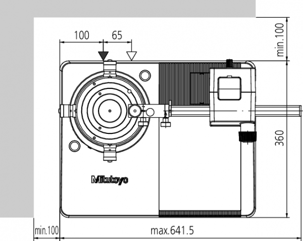 Máy đo độ không tròn Roundtest RA-120P [inch/mm] D.A.T. [mm], 211-545D