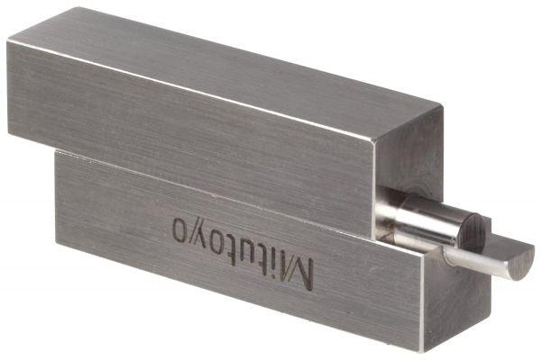 Thanh gá kẹp căn mẫu bán nguyệt 20mm Mitutoyo, 619014