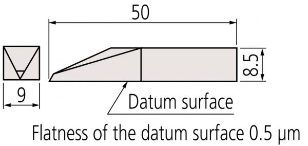 Mũi lấy dấu cho căn mẫu Mitutoyo, 619019