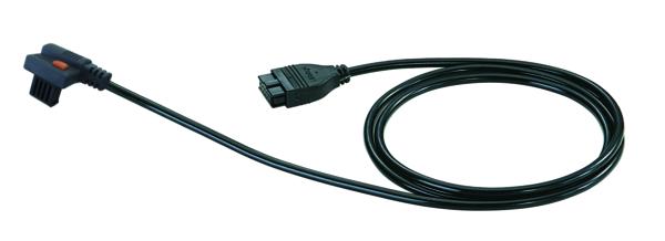 Cáp truyền dữ liệu cho thiết bị đo điện tử đầu hình chữ L phẳng Loại trái, 1m, 04AZB512