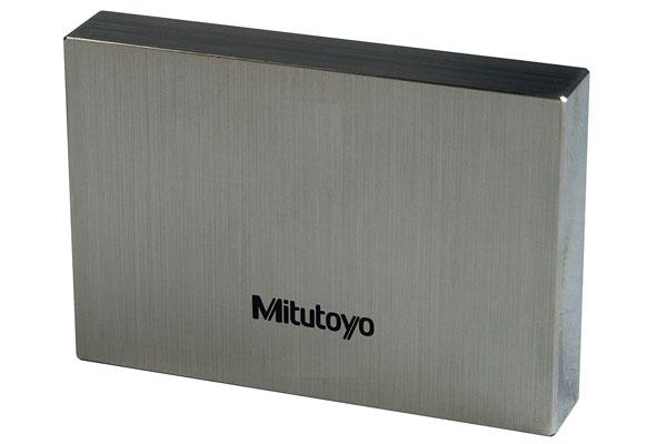 Căn Mẫu Thép cấp 1, Inspection Cert.ISO, 0,12 mm Mitutoyo, 611861-031