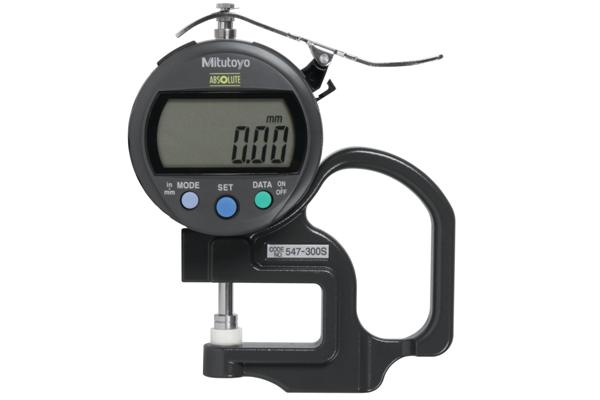 """Đồng hồ đo độ dày điện tử, 0-0,4"""", 0,0005"""", 547-300S"""