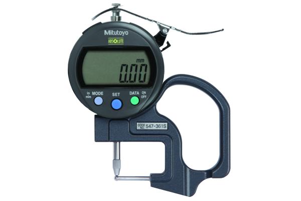 """Đồng hồ đo độ dày điện tử, 0-0,4"""", 0,0005""""/0,01mm, 547-361S"""