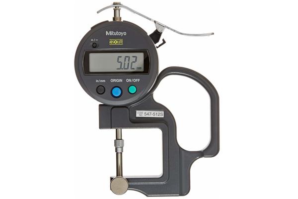 """Đồng hồ đo độ dày điện tử,, 0-0,47"""", 0,0005"""", 547-512S"""