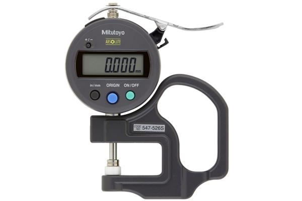 """Đồng hồ đo độ dày điện tử, 0-0,47"""", 0,0001"""", 547-526S"""