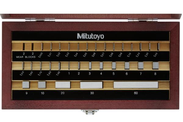 Bộ Căn Mẫu Thép 32 mẫu cấp 0 Mitutoyo, 516-966-10