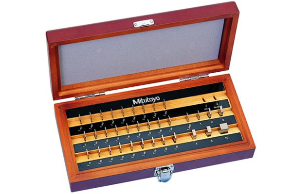 Bộ Căn Mẫu Thép 34 mẫu Cấp 0 Mitutoyo, 516-129-10