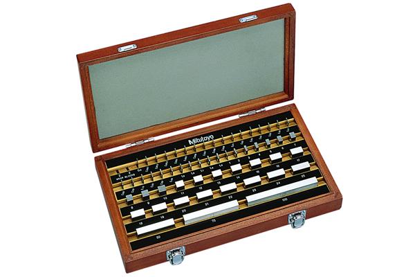 Bộ Căn Mẫu Thép 56 khối cấp K Mitutoyo, 516-953-60