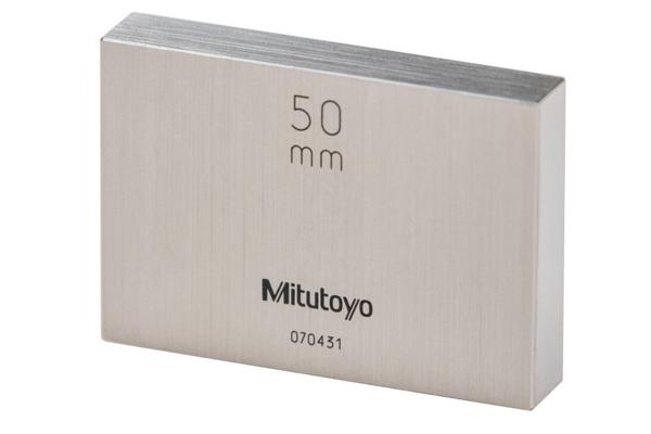 Căn Mẫu Thép 125mm Cấp 2 Mitutoyo, 611802-041