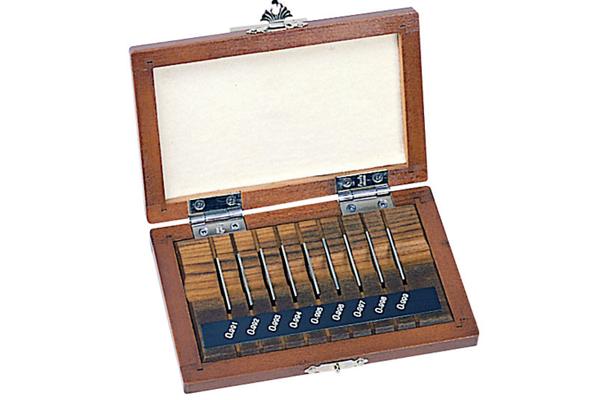 Bộ Căn Mẫu Thép 9 khối, Cấp 1, Mitutoyo, 516-987-10