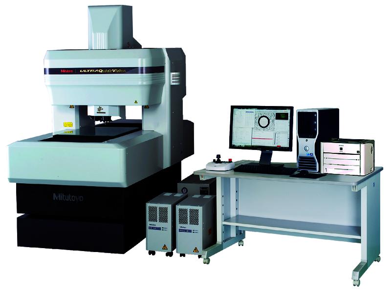 Máy đo tọa độ không gian 3 chiều loại không tiếp xúc CNC Vision Measuring Machine QV-U404P1N-D, 363-518-10SY
